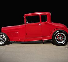 1928 Ford 'Little Red' Coupe IIA by DaveKoontz