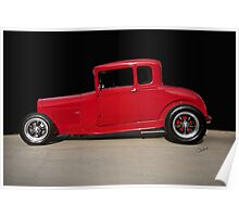 1928 Ford 'Little Red' Coupe IIA Poster