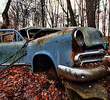 Forgotten Car 2 by GPMPhotography
