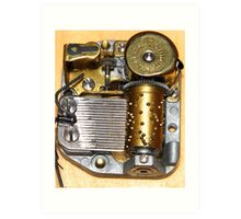 Music Box Mechanism Art Print