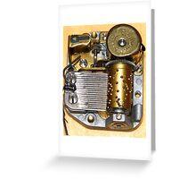 Music Box Mechanism Greeting Card