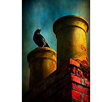 Red Chimney Photographic Print