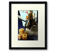 Another Game Winner............A sore looser..... Framed Print