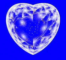 Escher Crystal Heart by sstarlightss