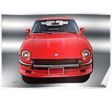 1971 Datsun 240Z VS2 Poster