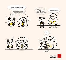 Copybear by Panda And Polar Bear