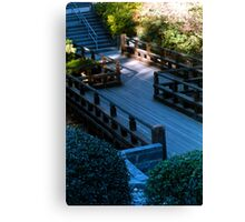 Spirit Bridge Canvas Print