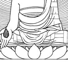 Buddha 02 Sticker