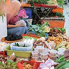 A Lady and Her Produce - Melaka, Malaysia by BreeDanielle