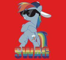 Rainbow Dash has ALL the SWAG One Piece - Long Sleeve