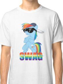 Rainbow Dash has ALL the SWAG Classic T-Shirt