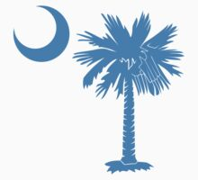 Light Blue Palmetto Moon by PalmettoTrading