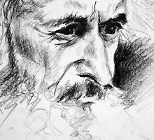 Sketch for a Portrait of an Old Man by Maya S.