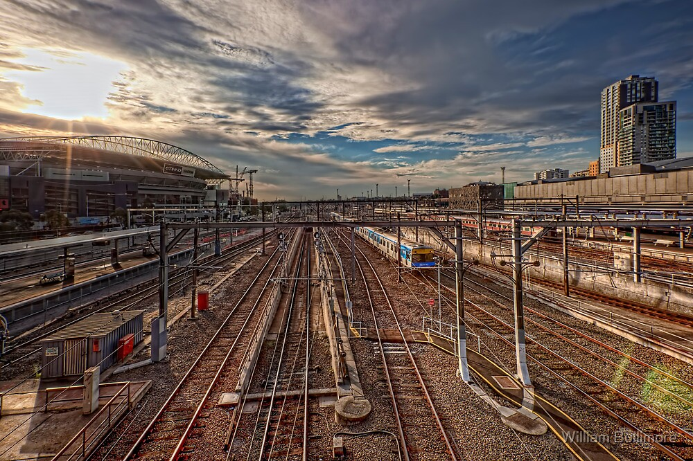Southern Cross Station • Melbourne • Australia  by William Bullimore