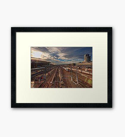 Southern Cross Station • Melbourne • Australia  Framed Print