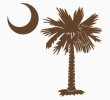 Brown Palmetto Moon by PalmettoTrading