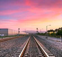 A Walk On The Tracks by Eddie Yerkish