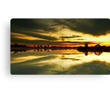 The Burnt Lake - The Lakes Golf Club NSW Canvas Print