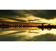 The Burnt Lake - The Lakes Golf Club NSW Photographic Print