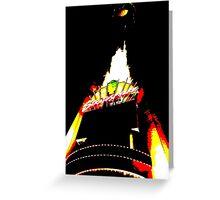 Stratosphere Las Vegas Greeting Card