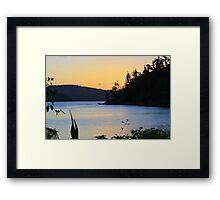 Paradise Sunset Framed Print