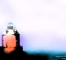 Sandy Point Shoal Lighthouse by Artondra Hall