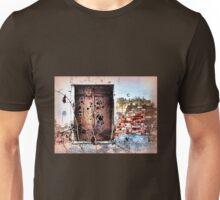 Old brickwork & shutters tell a story Unisex T-Shirt
