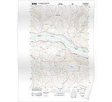 USGS Topo Map Washington Lyle 20110816 TM Poster