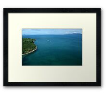 The Ride to Paradise! Framed Print