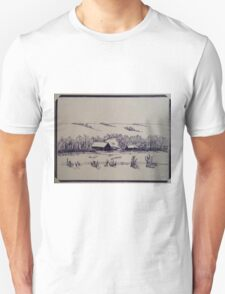 THE HILL WIFE - Winter home in the hills T-Shirt