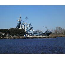 NC Battleship Photographic Print