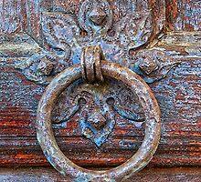 Old Door Ring  by Floyd Hopper