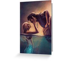 Captain Jones & The Mermaid Greeting Card