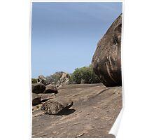 View at Drum Rock, Tanzania Poster