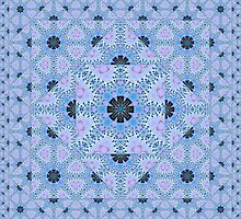 The Crossing - Escheristic Tessellations by Hugh Fathers