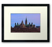 Parliament Hill - Ottawa, Ontario Framed Print