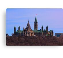 Parliament Hill - Ottawa, Ontario Canvas Print