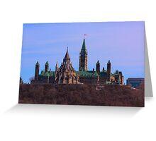 Parliament Hill - Ottawa, Ontario Greeting Card