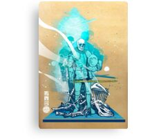 The White King-Knight's Pawn Canvas Print