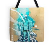 The White King-Knight's Pawn Tote Bag