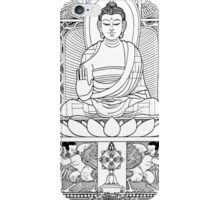 Buddha Black & White iPhone Case/Skin