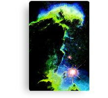 Erupts the Green Monster Canvas Print