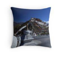 Potala Palace - Lhasa, Tibet Throw Pillow