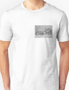 THE SOUND OF THE TREES - homestead in the backcountry T-Shirt
