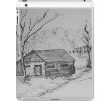 THE SOUND OF THE TREES - homestead in the backcountry iPad Case/Skin