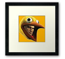 Hitman Chicken suit disguise Framed Print