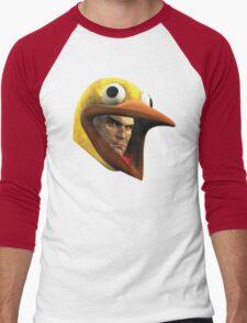 Hitman Chicken suit disguise Men's Baseball ¾ T-Shirt