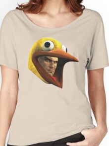 Hitman Chicken suit disguise Women's Relaxed Fit T-Shirt