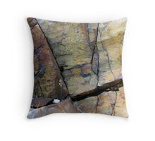The Colours of the Land - Pukaskwa National Park - Heron Bay Ontario Canda Throw Pillow