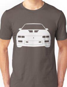 Third Gen Chevy Camaro - WHITE Unisex T-Shirt